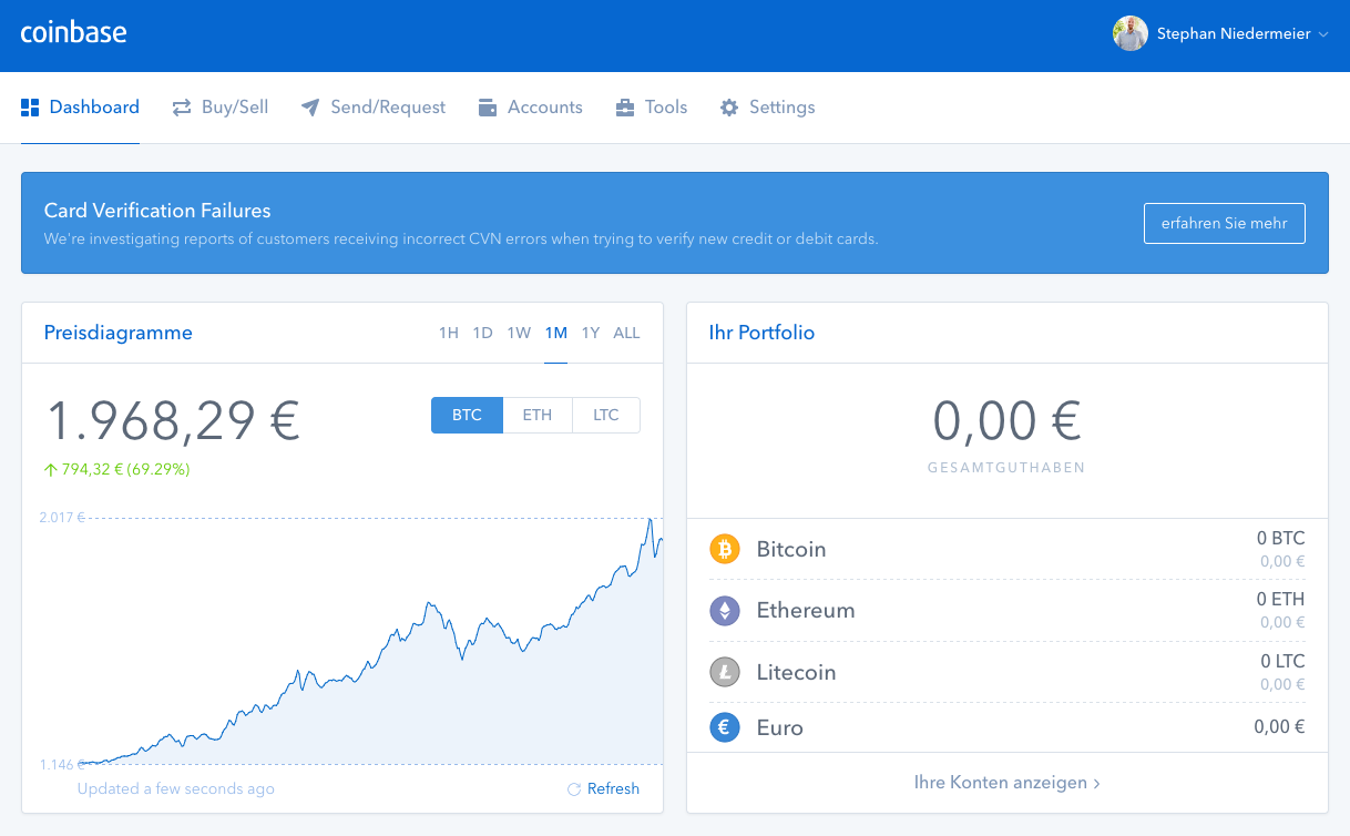 Add Altcoin To Coinbase Whats The Difference Between Wallet And