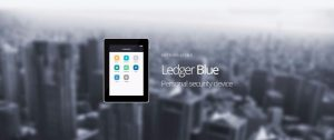 Ethereum Hardware Wallets - Ledger Blue