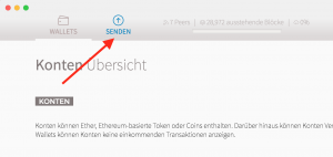 Transfer Ethereum and sell Ethereum